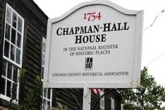 Chapman-Hall House Sign