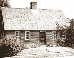 Old Photo of Chapman-Hall House