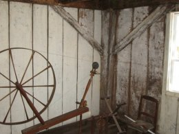 Chapman-Hall House Spinning Wheel