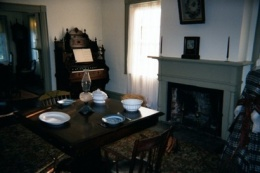 Dining Room in Old Jailers House