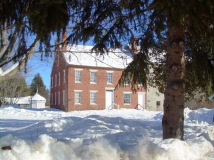 Wiscasset Old Jail in WInter