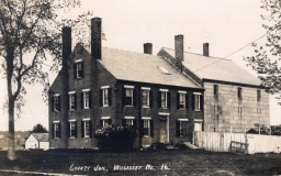 Wiscasset Old Jail Postcard