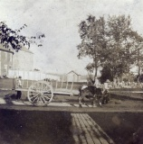 Ox Cart In Front of Wiscasset Old Jail