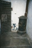 Stove in the Old Jail in Wiscasset