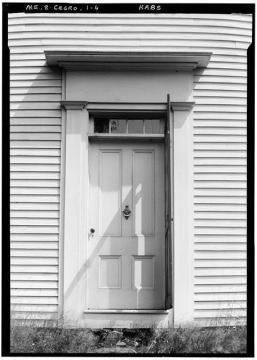Pownalborough Court House Door on River Side