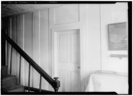 HABS Pownalborough Court House Stairway 1936