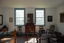 Pownalborough Court House Bedroom