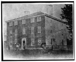HABS Old Photo of Pownalborough Court House