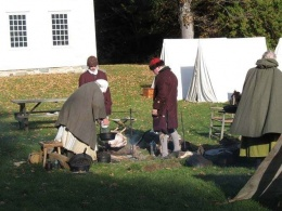Pownalborough Court House Reenactors Campsite