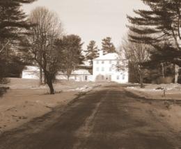Pownalborough Court House Road to Court House