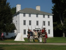 Pownalborough Court House with Goodwins and Whites Living Historians